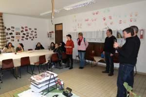 Finn pedagógusok a szakiskolásoknál