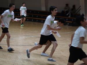 Tájfutás a sportcsarnokban - 2018